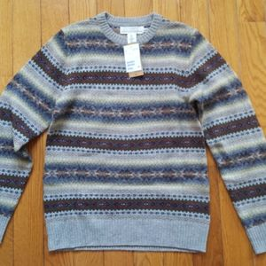 H&M Wool Blend Mens Knit Sweater Size S NWT